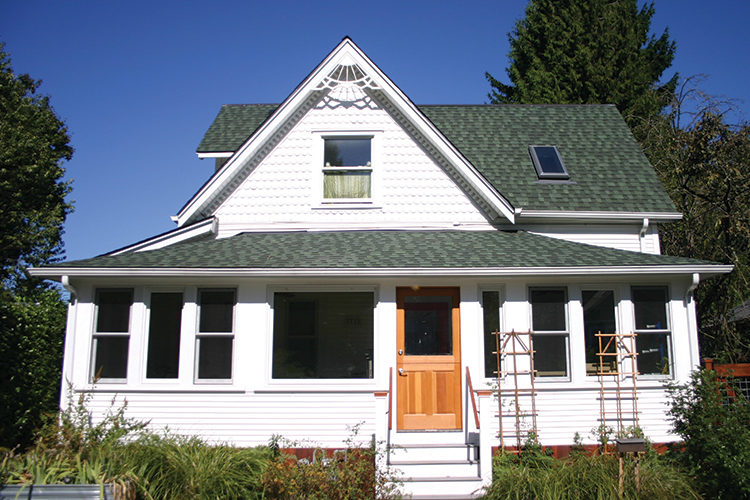 Home remodel, dormer, addition, front steps, front door, Portland, Kaya Construction, Kaya General Contractors, Portland Remodeler
