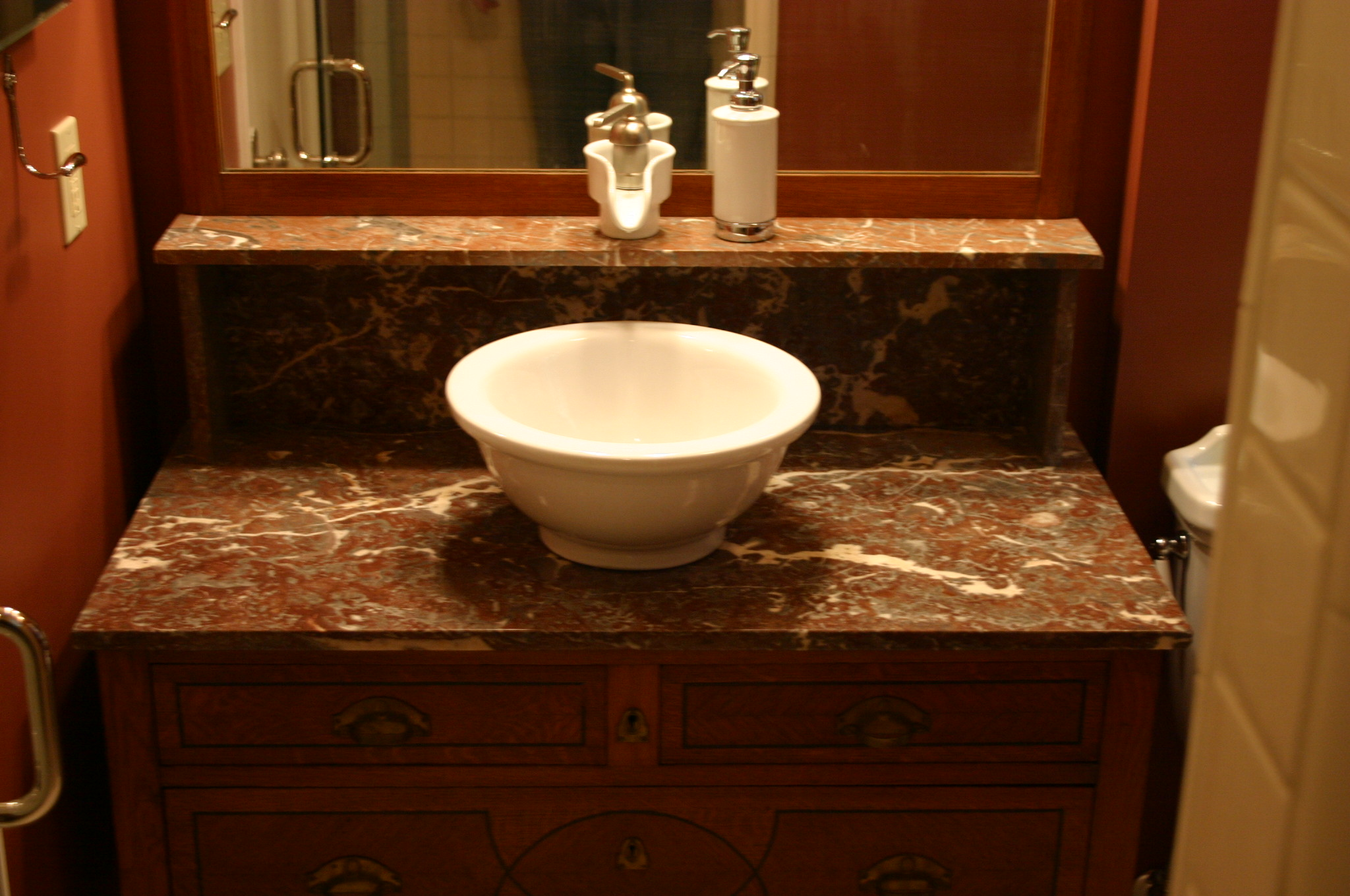 Remodel, bathroom, sink, home renovation, Portland, Kaya Construction, Kaya General Contractors, Portland Remodeler