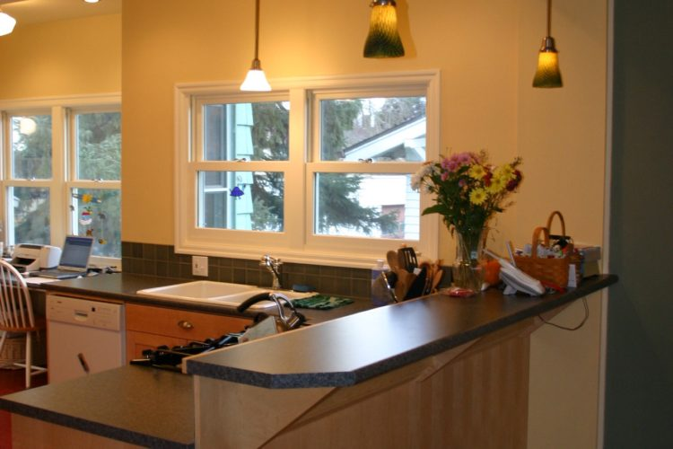 Remodel, kitchen, addition, home renovation, countertops, tile, Portland, Kaya Construction, Kaya General Contractors, Portland Remodeler