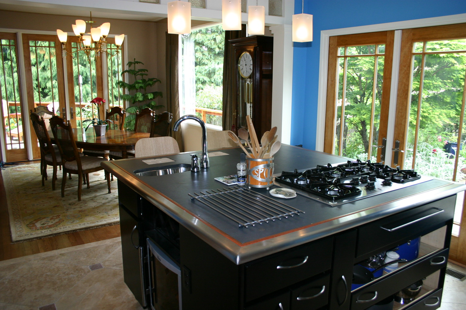 Remodel, dining room, kitchen, home renovation, Portland, Kaya Construction, Kaya General Contractors, Portland Remodeler