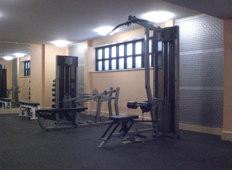 Marriott, commercial renovation, weight room, exercise room, hotel, commercial construction, Portland, Kaya Construction, Kaya General Contractors, Portland Remodeler