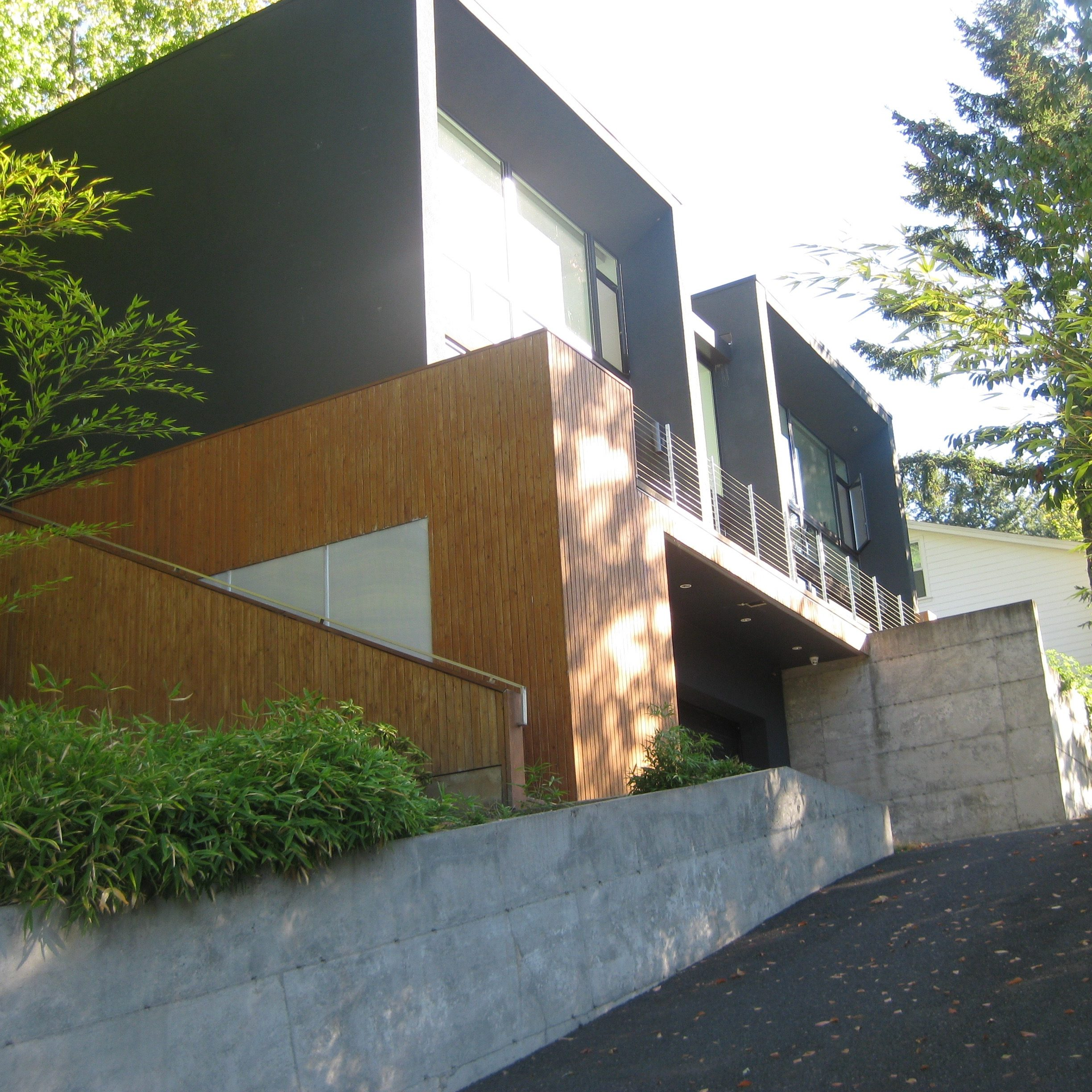 Mid Century Modern, Design and Build, Concrete interior, foundation, Remodel, contemporary home remodel, home renovation, Portland, Oregon, Kaya Construction, Kaya General Contractors, Portland Remodeler