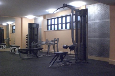 Marriott Hotel Gym